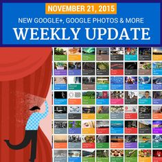 What's new this week? The new Google+! And Google Photos lets you free up space, Hangouts video calls joined without a Google account, YouTube translati... - Dustin W. Stout - Google+