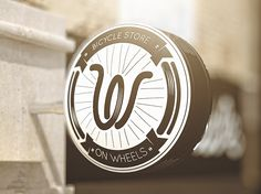 Inspiration Über Alles - not-right-now: On wheels Graphic identity for a bicycle store in Moscow