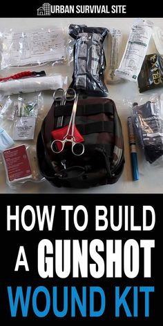 In this video, you'll learn what medical supplies you need to have on hand in case you or someone you care about gets shot. #urbansurvivalsite #urbansurvival #firstaid #firstaidkit #medicalsupplies