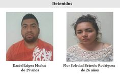 Detienen a pareja narcomenudista, portaban medio kilo de Cristal, marihuana y arma de fuego | El Puntero