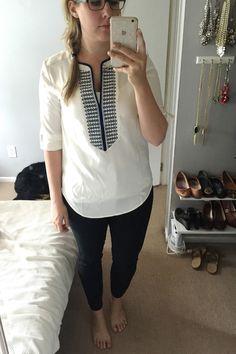 review: ann taylor sleeveless eyelet shirtdress