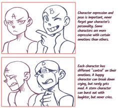 Character expression guide