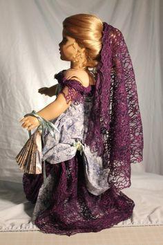 Victorian gown fits 18in. American girl dolls von bobbyjosue