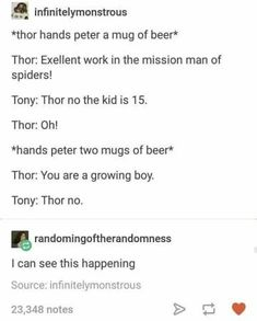 """Jokes About The Avengers Just Hanging Out That Are Frickin' Hilarious """"The Avengers go to Ikea, and Thor is the only one who can pronounce the name of anything.""""""""The Avengers go to Ikea, and Thor is the only one who can pronounce the name of anything. Marvel Jokes, Marvel Comics, Avengers Memes, Marvel Funny, Avengers Tumblr Funny, Marvel Tumblr, Marvel Films, Funny Comics, The Avengers"""