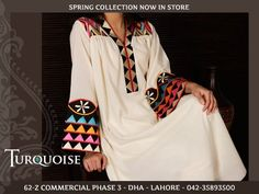 white with traditional colored embroidery