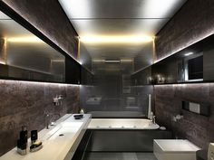 9 baños modernos de cine