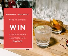 Win $2,000 in home essentials from SNOWE!