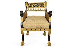 Drake Club Chair on OneKingsLane.com