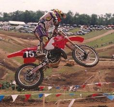 Jeremy McGrath 1993 Honda CR125
