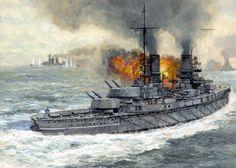 German warship at jutland