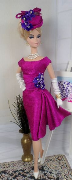 Bougainvillea for Silkstone Barbie and Victoire Roux on Etsy now
