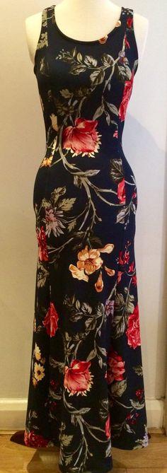 Floral summer dress Maxi dress Long dress by Valdenize #valdenize #summerdress #floraldress #maxidress #dress