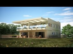 Exterior modeling in 3ds max- Part 1 - YouTube
