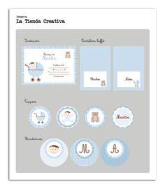 La Tienda Creativa -   Ideas para fiestas. Descarga de etiquetas.