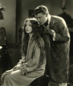 Lillian Gish and Ralph Forbes From THE ENEMY c.1927