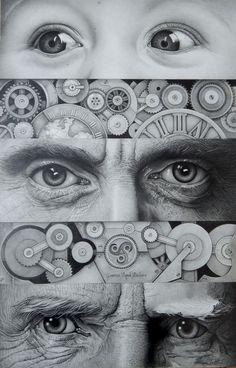 Dibujo a lápiz - Path - Gabriel Serna
