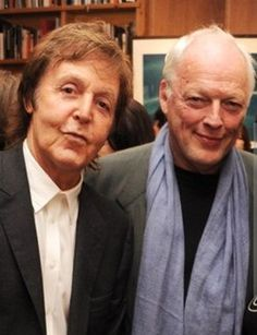 Paul McCartney and David Gilmour current