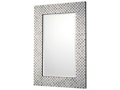 Capital Lighting Embossed Metallic 23''W x 35''H Rectangular Wall Mirror
