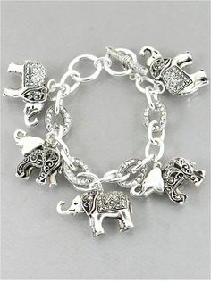 P.S. I Love You More Boutique | Elephant Charm Bracelet