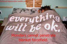 very true, ive never been eaten by monsters