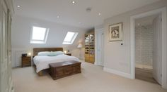 loft conversions Want to make changes in your house? Wish to convert your attic into a nice room and yet still are confused whether you should or should not hire loft conversion servi House, Home, Loft Conversion Stairs, Bedroom Loft, Loft Room, Loft Spaces, Urban Interiors, Victorian Terrace, Terrace House