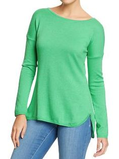 Women's Softest Boat-Neck Sweater in Imperial Jade | Old Navy