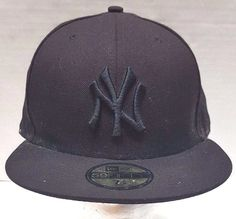 d75cd3c330adb New York Yankees New Era Hat 59FIFTY Brown MLB Size 7 5 8 Fitted Wool