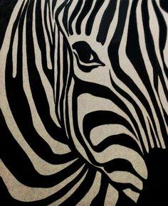 Pyrography / Zebra...