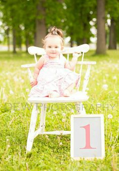 DEW Photography - Michigan #oneyearold #firstbirthday #birthdaygirl