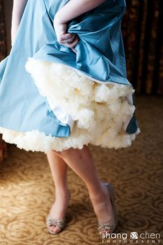 Petticoat, anyone? Dressings.