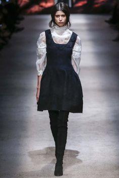 All the runway looks from Alberta Ferretti: Milan Ready-to-Wear Autumn/Winter 2015/16