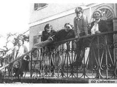 Gerald Durrell the great naturalist as a boy with his family on Corfu. Late 1930's.