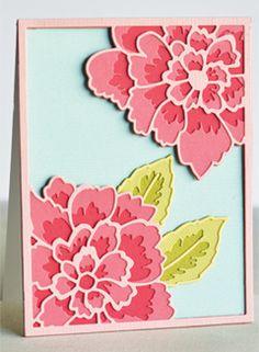Peony Bloom Layer Set
