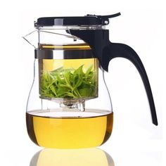 Samadoyo Drift Teapot Exquisite Heat Resistant Glass Tea pot Tea Cup with Built-in Infuser A10 600ml Stainless Steel