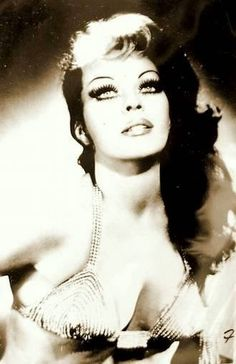 """Beautiful Tongolele portrait. 