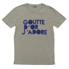 """T-shirt """"Goutte d'or"""" chez Front de Mode"""