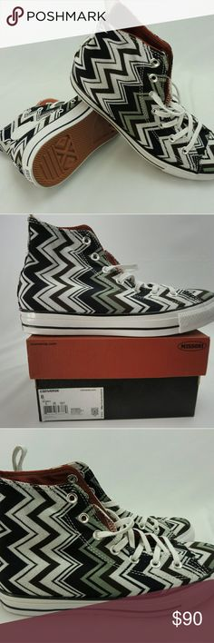 Converse, NWT, Women's Missoni Chuck Taylor Converse, NWT, Women's Missoni Chuck Taylor All Star  Hi Line Limited Edition Converse Shoes Sneakers