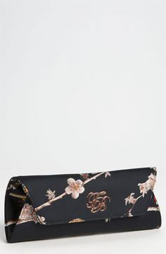Ted Baker London 'Birdie Branch' Satin Clutch available at #Nordstrom
