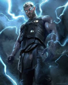 Thor art avengers infinity war / end game hi my comics thor, Marvel Dc Comics, Marvel Avengers, Marvel Fanart, Heros Comics, Marvel Heroes, Asgard Marvel, Anime Comics, Captain Marvel, Chris Hemsworth Thor