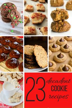 twenty three cookie recipes