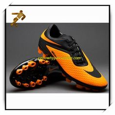 New Nike Hypervenoms Phelon AG Black Citrus Womens Soccer Cleat