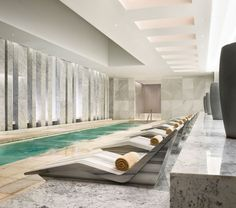 Would love to relax here....  Lapis Spa in Fontainebleau, Miami