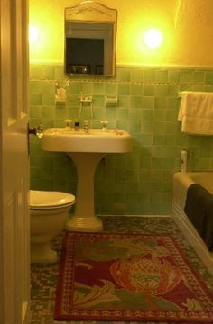 1930s bungalow bathroom - Google Search