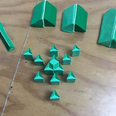 Cane construction! Working on a tumbling block variant. Thanks for looking! #tumblingblocks #polymerclay #clay #murrini #murrine #murrina…