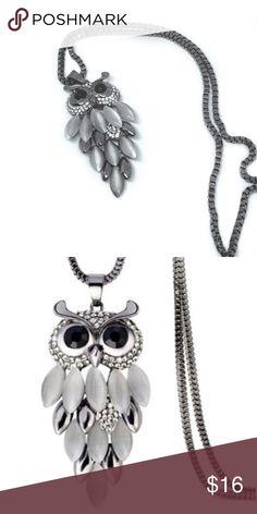 Owl Pendant Necklace Cute owl pendant necklace. Length 75 cm Jewelry Necklaces  www.dancingmamastyle.com