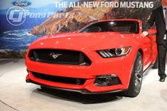 All-new 2015 Mustang at Ford's official unveiling in Dearborn, MI. [CLICK TO LEARN MORE] #2015Mustang #Mustang