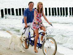 Fahrradfahren mit Hund: Worauf Sie achten müssen – Foto: Shutterstock / gorillaimages    www.einfachtierisch.de
