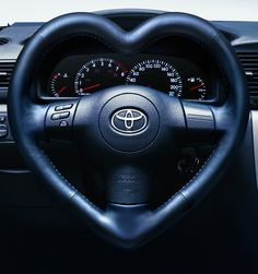 CGI Product Rendering of Toyota Heart Steering Wheel | Flickr - Photo Sharing!