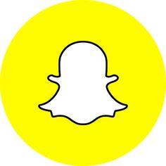 Logo Snapchat, Snapchat Free, Snapchat Icon, Social Media Logos, Social Media Icons, Kreis Logo, Photoshop Logo, Photoshop Illustrator, Youtube Banner Template