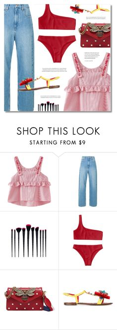 """""""How to Dress for a Heat Wave"""" by defivirda ❤ liked on Polyvore featuring Gucci and Dolce&Gabbana"""